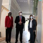 Se instala el aislamiento acústico en la nueva Escuela de Música 'Guillermo Calero' de Manzanares