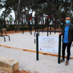 Valdepeñas estrena un conjunto de calistenia y dos zonas de movilidad articular al aire libre