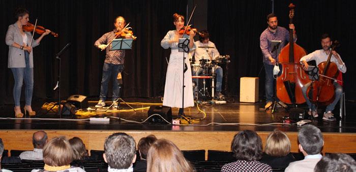 El original concierto de Arnoia Ensemble abrió la programación cultural de primavera en La Solana