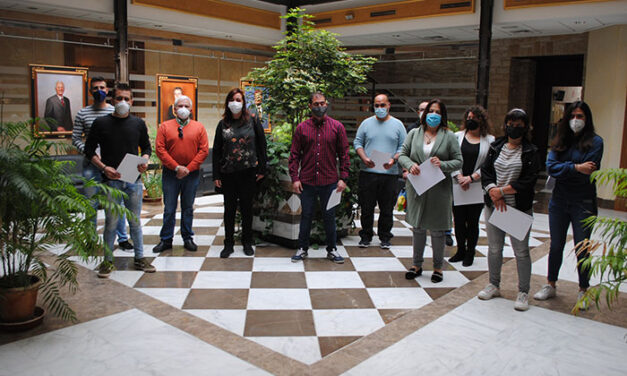Dieciocho alumnos reciben el certificado de piloto de dron en Valdepeñas
