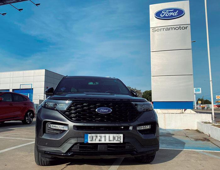Ford Serramotor presentó el eficiente Ford Explorer PHEV
