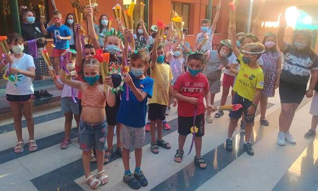 La Escuela de Verano y Mini-ludoteca de Valdepeñas registraron la participación de 240 niños y niñas