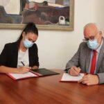 El alcalde muestra su apoyo incondicional al Handball Femenino Manzanares