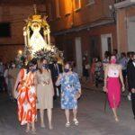 Orden y disciplina en la vuelta de la Virgen de Peñarroya
